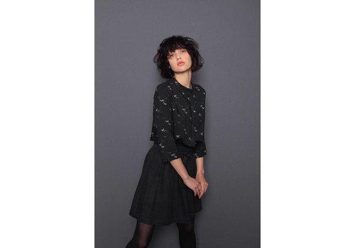Misley Misley - Kimono Skirt - Dark Grey