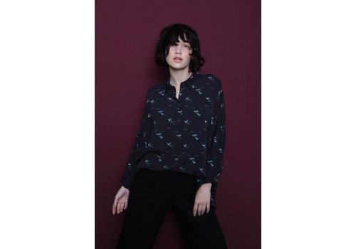 Misley Misley - Sake Shirt - Cranes