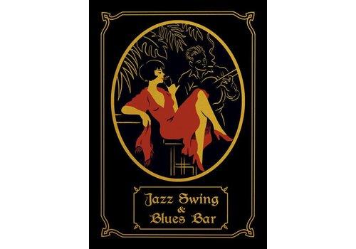 El Marquès El Marques - Jazz Bar - Screen Print