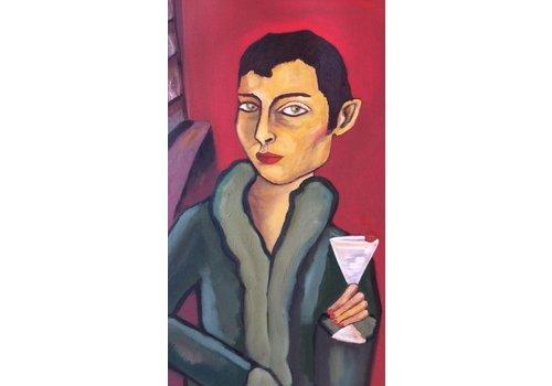 Alicia Borssen Alicia Borssen - Martini Man - A3 Print