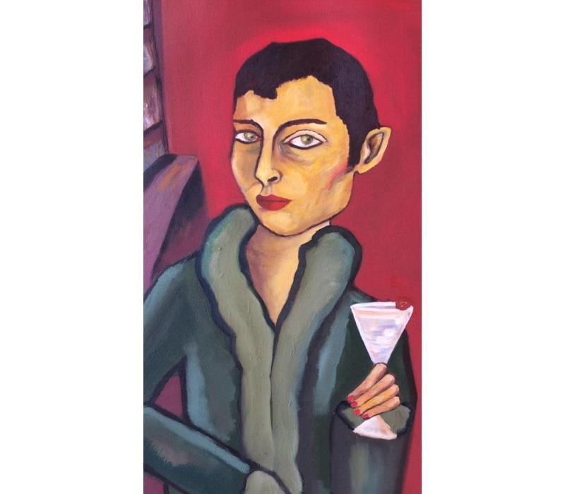 Alicia Borssen - Martini Man - A3 Print
