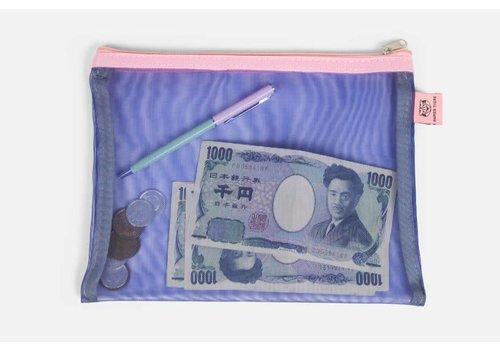 Papier Tigre Papier Tigre - The Pockets - Indigo Pouch
