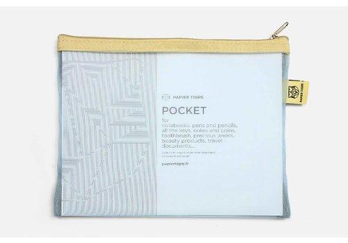 Papier Tigre Papier Tigre - The Pockets - Light Blue Pouch