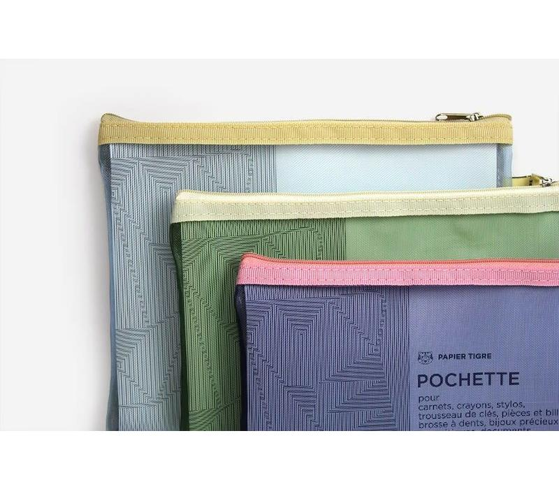 Papier Tigre - The Pockets - Light Blue Pouch