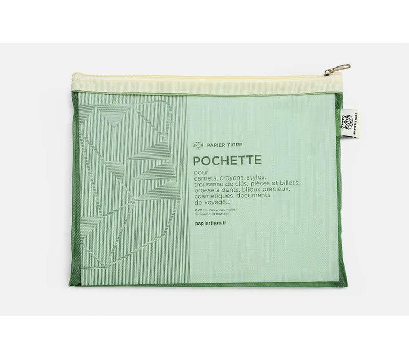 Papier Tigre - The Pockets - Green Pouch