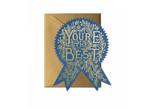 Rifle Paper Rifle Paper Co. - You're The Best - Greeting Card