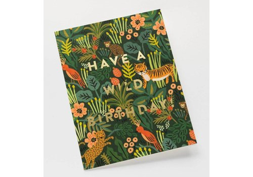 Rifle Paper Rifle Paper Co. - Wild Birthday - Greeting Card