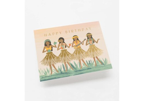 Rifle Paper Rifle Paper Co. - Hula Birthday - Greeting Card