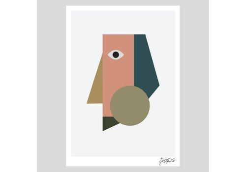 Josie Hills Josie Hills - A3 Print - She One