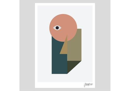 Josie Hills Josie Hills - A3 Print - She Two