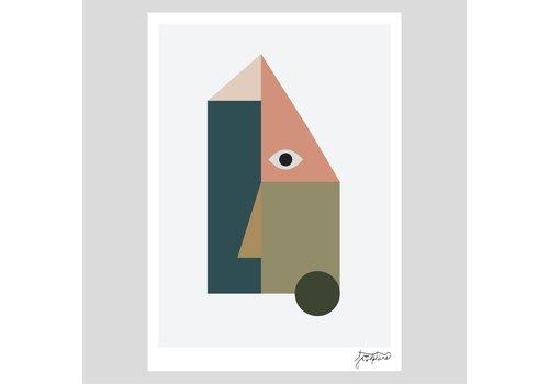 Josie Hills Josie Hills - A4 Print - She Three