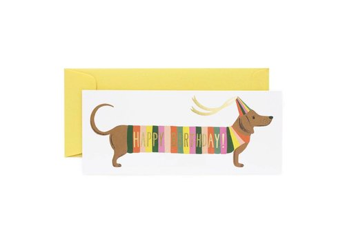 Rifle Paper Rifle Paper Co.- Hot Dog - Greeting Card