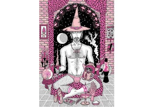Rapha Hu Rapha Hu - Brujería contra el Heteropatriarcado - A4 Print