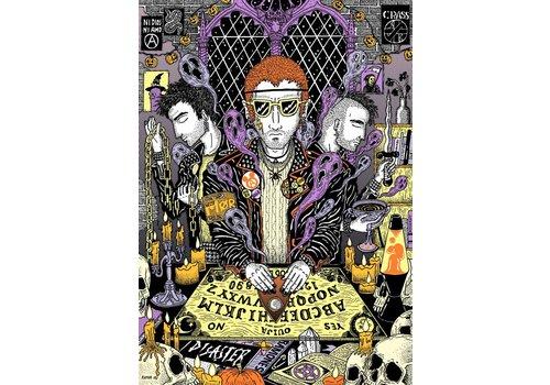 Rapha Hu Rapha Hu - Ouija y Magia contra el Estado - A4 Print