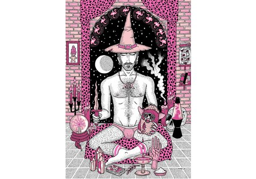 Rapha Hu Rapha Hu - Brujería contra el Heteropatriarcado - A5 Print