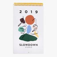 Slow Down Studio - 2019 Calendar
