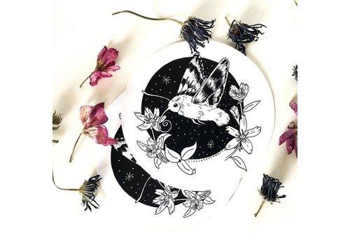 Silvia Santa Maria Silvia Santamaria - Humming Bird Moth - Sticker