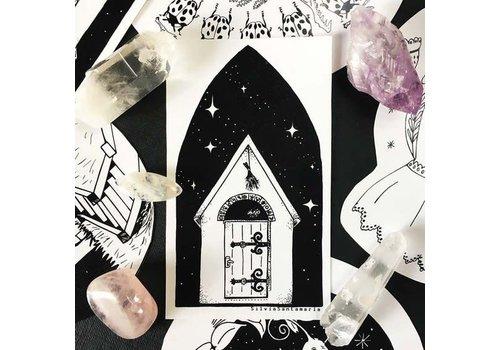 Silvia Santa Maria Silvia Santamaria - Mystic Door - Sticker