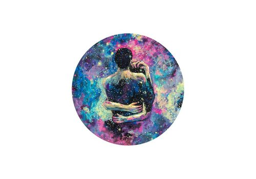 Prisma Visions James R. Eads - Astral Pains of Love - Sticker