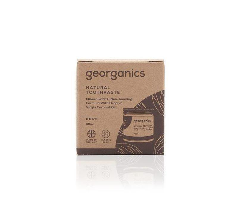 Georganics - Natural Mineral-rich Toothpaste - Pure Coconut 120ml