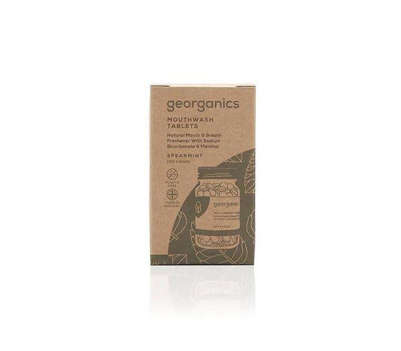 Georganics - Mouthwash Tablets - Spearmint