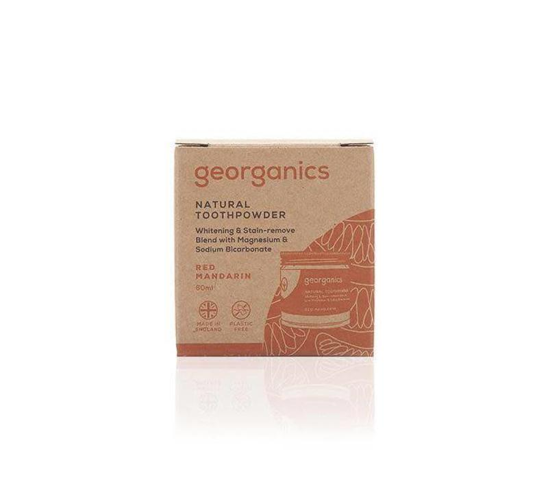 Georganics - Natural Toothpowder - Red Mandarin 60ml