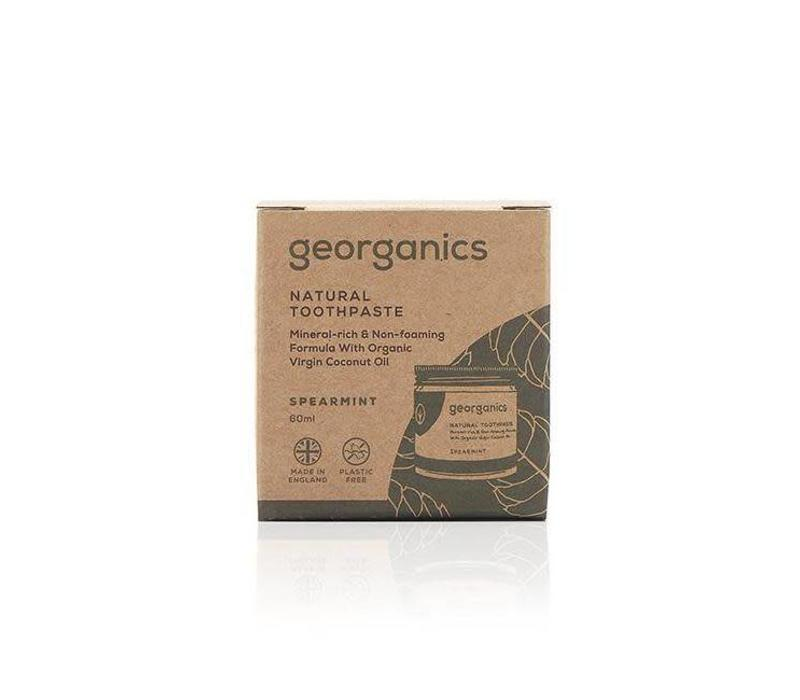 Georganics - Natural Mineral-rich Toothpaste - Spearmint 60ml