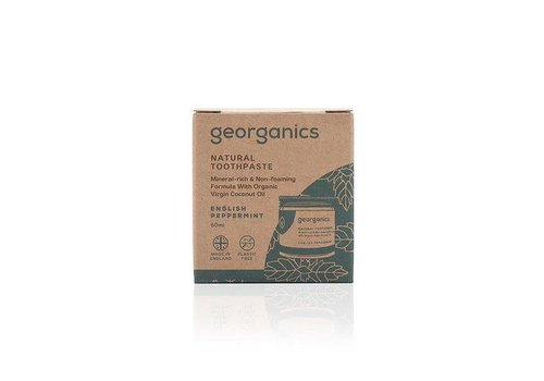 Georganics Georganics - Natural Mineral-rich Toothpaste - English Peppermint  60ml
