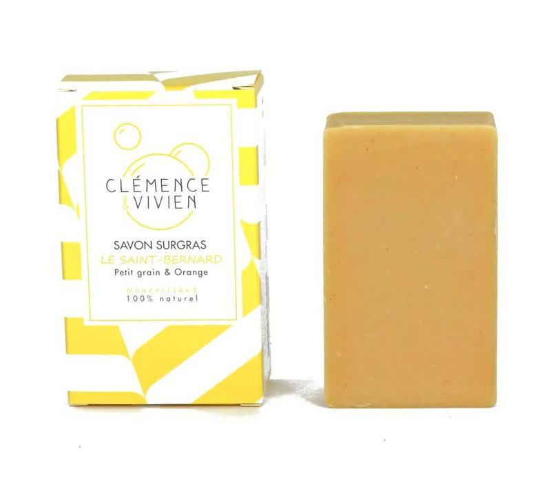 Clémence & Vivien - Turmeric and Orange Soap