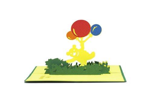 XiuXiu XiuXiu -  Oset amb Globus - Greeting Card