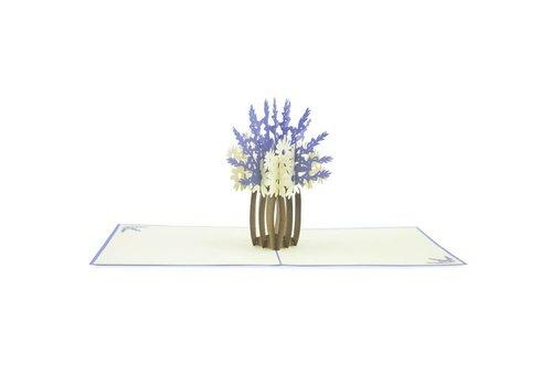 XiuXiu XiuXiu - Centre de Flors. Lavanda - Greeting Card