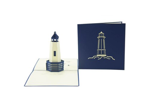 XiuXiu XiuXiu - Lighthouse- Greeting Card