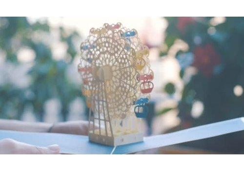 XiuXiu XiuXiu - Roda del Tibidabo - Greeting Card