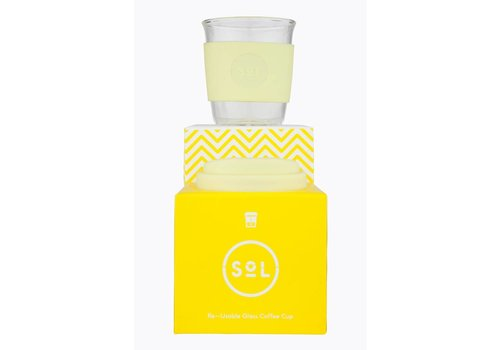 SoL Cups SoL - Yummy Yellow - Reusable 8oz Cup