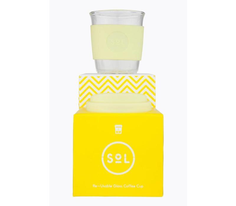 SoL - Yummy Yellow - Reusable 8oz Cup