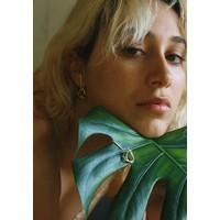 Naida C. Castel - Dreamland Earrings Silver