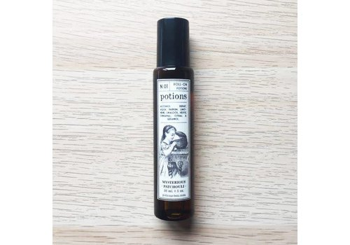 Potions Potions - N.01 Mysterious Patchouli – Fragancia en Roll On (30 ml)