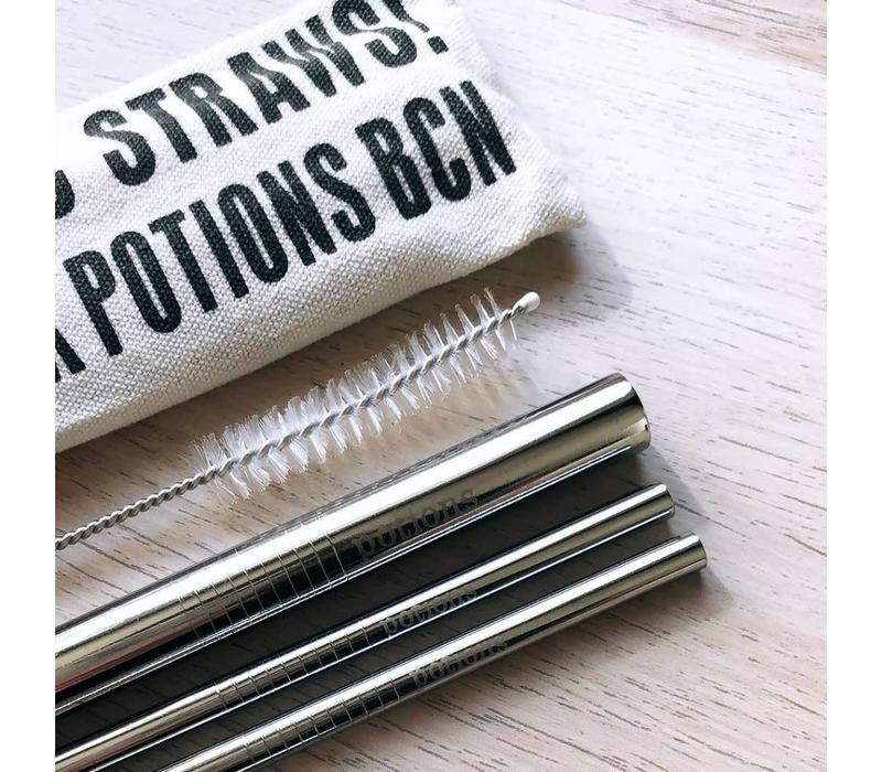 Potions - Set de pajitas reutilizables
