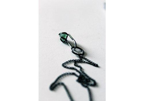 Naida C. castel Naida C. Castel - One of a Kind Necklace - Green Calcite