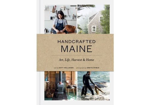 Princeton Architectural Press Handcrafted Maine - Book