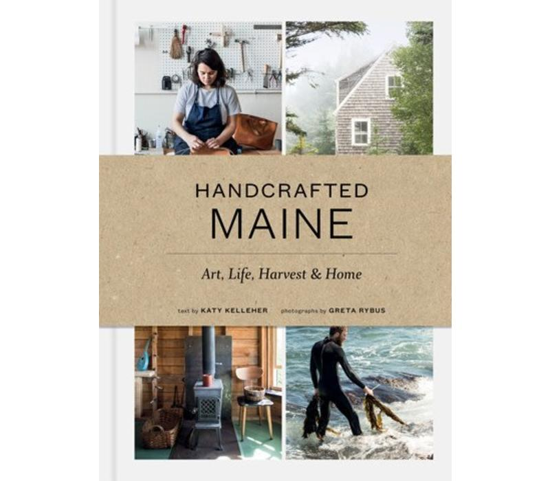 Handcrafted Maine - Book