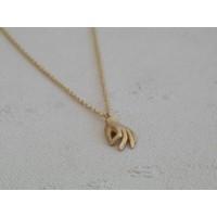 Âme - Hand - Gold Necklace