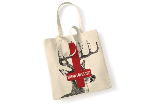 Error Design Error - Satan Loves You- Totebag