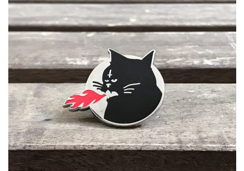 Error Design Error - Meowcifer - Enamel Pin
