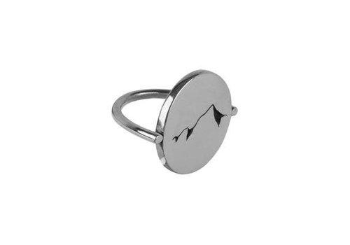 Michi Roman Michi Roman - Mountain Range - Sterling Silver Ring