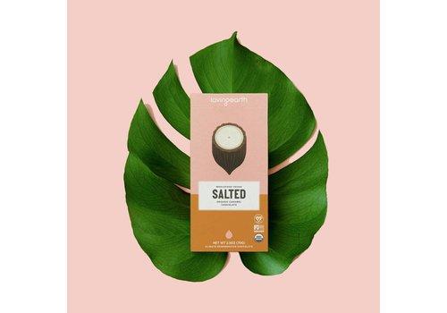 Loving Earth Loving Earth - Salted Caramel Chocolate - 80 Gram Bar
