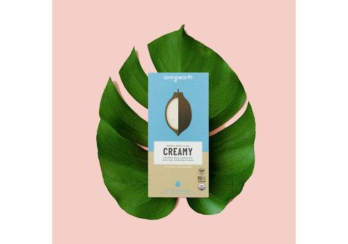 Loving Earth Loving Earth - Dark Chocolate - Creamy Coconut Mylk Chocolate - 80   Gram