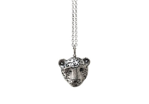 Michi Roman Michi Roman - Leopard Necklace Sterling Silver