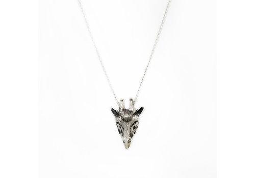Michi Roman Michi Roman - Giraffe Necklace Silver