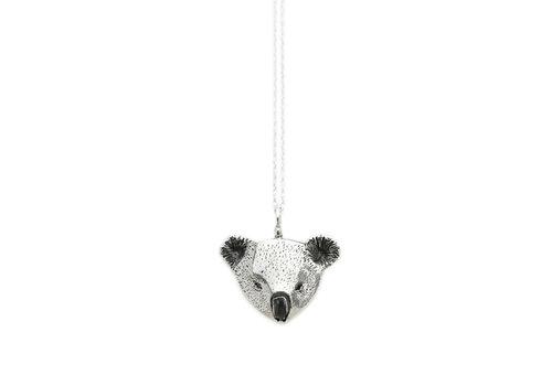 Michi Roman Michi Roman - Koala Necklace Silver